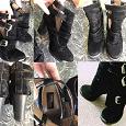 Отдается в дар Чёрные ботиночки на каблуке 39 размера