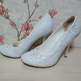 Отдается в дар Свадебные туфли 35 размер