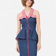Отдается в дар Джинсовое платье, размер 40, фирма LO