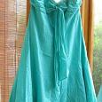 Отдается в дар платье бирюзовое 14
