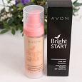Отдается в дар Тональное средство для лица Avon Bright start «Заряд свежести» SPF 15
