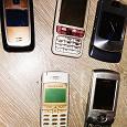 Отдается в дар сотовые телефоны кнопочные, сломанные