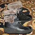 Отдается в дар Женские зимние ботинки