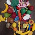 Отдается в дар Игрушечные овощи/фрукты