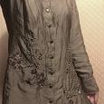 Отдается в дар Длинная женская рубашка 44