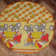 Отдается в дар Год Мыши! Полотенце кухонное с мышками