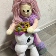 Отдается в дар Вязаная куколка и Пони