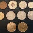 Отдается в дар Монеты: центы, марки, франки.