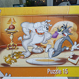 Отдается в дар Пазл детский Tom and Jerry