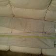 Отдается в дар Брюки женские Triset Sportswear, серые в полоску, талия 34 см, длина 104 см.