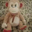 Отдается в дар Мягкая игрушка обезьяна