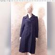Отдается в дар Пальто женское демисезон черное, шерсть 44 размер.