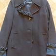 Отдается в дар Пальто коричневое драповое