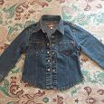 Отдается в дар Джинсовая курточка-рубашка р.98