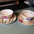 Отдается в дар Две чашки и блюдца