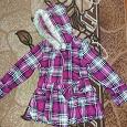 Отдается в дар Пальто на девочку, 4-6лет. в отличном состоянии. Замеры
