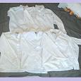 Отдается в дар Рубашки белые для мальчика 122-128 см