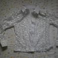 Отдается в дар Блузка-рубашка детская