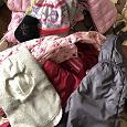 Отдается в дар Осенняя/зимняя одежда для девочки 98-104