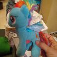 Отдается в дар My little pony — голубая лошадка