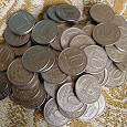 Отдается в дар Монеты 10 рублей России 1992 и 1993