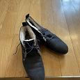 Отдается в дар Зимние замшевые ботинки