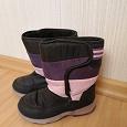 Отдается в дар Фиолетовые зимние сапожки 30 размера