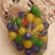 Отдается в дар Мешок шаров для сухого бассейна