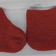 Отдается в дар Новые носочки — тапочки вязаные на 38 -39 размер