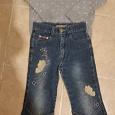 Отдается в дар Свитер и джинсики для девочки 4-5лет