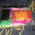 Отдается в дар Набор Бархатного пластика 24 цвета