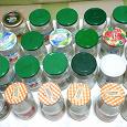 Отдается в дар 30 банок с крышками для консервирования
