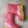 Отдается в дар Резиновые сапоги для девочки 28 размер