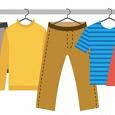 Отдается в дар Большой мешок одежды мальчику 104