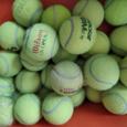 Отдается в дар Теннисные мячи (не новые — БУ) от профессиональных игр большого тенниса