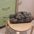 Отдается в дар Радиоуправляемая модель ирушка танка абрамс 40 мгц