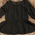 Отдается в дар Черная блузка для девочки лет 7ми