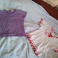 Отдается в дар две футболки девочке