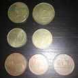 Отдается в дар Монеты евро центы