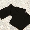 Отдается в дар шерстяные шарфы черного цвета