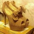 Отдается в дар туфли на шпильке новые