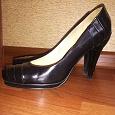 Отдается в дар Туфли 38 размер черные каблук