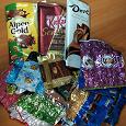 Отдается в дар Фантики и шоколадные обертки