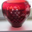 Отдается в дар ваза из цветного стекла