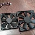 Отдается в дар Два вентилятора охлаждения системного блока