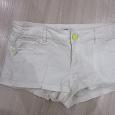 Отдается в дар Джинсовые шорты белые