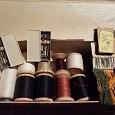 Отдается в дар Швейные нитки и иголки