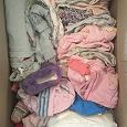 Отдается в дар Коробка вещей для девочки 0-1 год