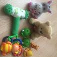 Отдается в дар Игрушки для малыша и мягкий мобиль