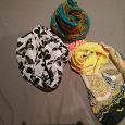 Отдается в дар шарфы и снуд